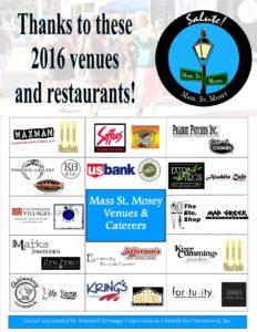 ty 2016 venues restaurants